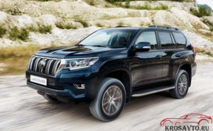 Обновленный Toyota Land Cruiser Prado 150