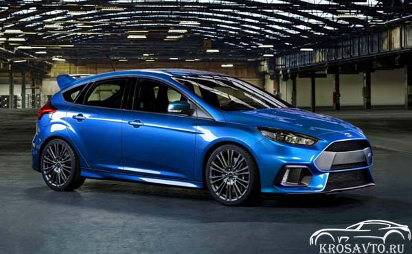 Экстерьер Ford Focus RS