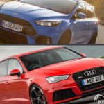 Ford Focus RS или Audi RS3 Sportback
