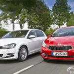KIA Ceed или Volkswagen Golf