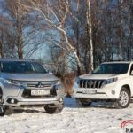 Toyota Land Cruiser Prado 150 или Mitsubishi Pajero Sport